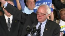 Bernie Sanders' victory in New Hampshire aims to rattle establishment