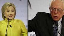 Hillary Clinton tries to slow Bernie Sanders' momentum in debate