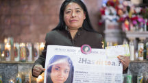 Mother of Disappeared Daughter Sees Hope in Pope's Visit