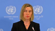 E.U. Foreign Policy Chief: 'Sanctions Related to Iran's Nuclear Program are Lifted'
