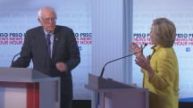 Sanders, Clinton Spar Over Campaign Funds, Donors