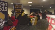 'Black Lives Matter' Protesters Crash Dem Debate
