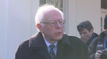 Sanders Describes Meeting With Obama