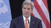 Kerry Announces Humanitarian Aid Effort, Cessation of Hostilities in Syria