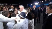 Pope Francis Arrives in Mexico