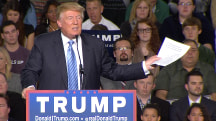 Trump Reads Article He Says Vindicates Memory of People Celebrating WTC