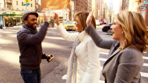 Random acts of kindness lead Hoda and Jenna Bush Hager across NYC