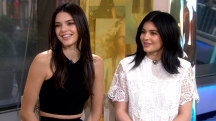 Kendall and Kylie Jenner give TODAY a look at their new fashion line