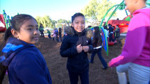 Shine a Light: Kids romp in new playground built by TODAY