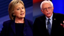 Hillary Clinton and Bernie Sanders ratchet up attacks before debate