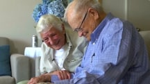WWII Sweethearts Reunite After More Than 70 Years Apart