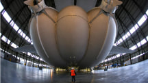 World's Largest Aircraft Unveiled - and it Floats!