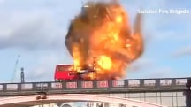 Watch London Bus Blown Up in Controversial Movie Stunt