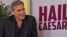 Clooney Speaks of His Wife's Dress Sense and the Refugee Crisis