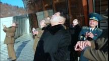 Kim Jong Un Visits Rocket Launch Site: North Korean TV