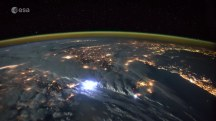 Watch Lightning Storms Seen from Space