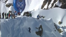 World's Best Ski and Snowboard Freeriders Compete in French Alps