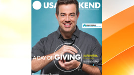 Carson Daly graces cover of USA Weekend