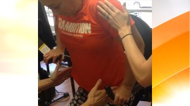 Amy Van Dyken-Rouen: I'm back on my feet