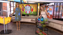 5 lucky viewers win a lovely serving cart from KLG and Hoda