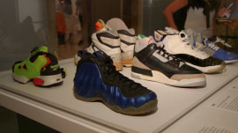 NY exhibit unties history, culture of sneakers