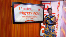 Vote for favorite charity to #UpgradeYourWorld