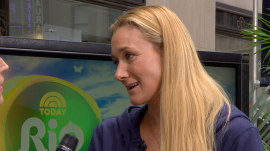Kerri Walsh Jennings serves a sneak peek into the Rio Olympics