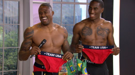 Shirtless Olympians help KLG, Hoda kick off countdown to Rio