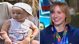 Flashback 1998: See Katie Ledecky as a tot meeting Al Roker on TODAY