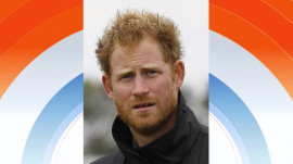 Prince Harry (with a beard) is KLG and Hoda's Hump Day Hunk