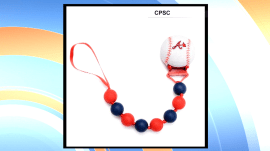 Pacifier clips being recalled