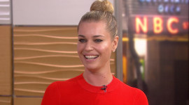 Rebecca Romijn talks 'The Librarians,' naming her daughter after Dolly Parton