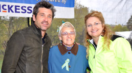 Patrick Dempsey opens up about his mother's battle with cancer