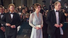 Duchess Kate upstages 007 at 'Spectre' premiere in London