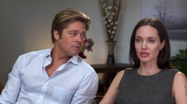 Angelina Jolie and Brad Pitt discuss marriage, new film, cancer fight