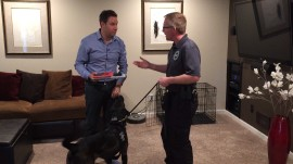 See how this police dog sniffs out electronic evidence that humans miss