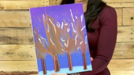 How to DIY artwork using melted crayons