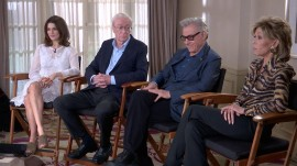 Michael Caine, Jane Fonda on their new film 'Youth'… and getting older