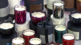 Hostess gifts Steals & Deals: Glass trays, faux fur, luxury candles