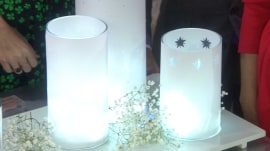 Martha Stewart keeps the season bright with crafty holiday lights!
