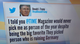 Trump: TIME picked person 'ruining Germany' as Person of the Year