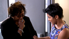 Tamron Hall pays it forward to grieving mom who helps families in need