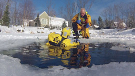 Thin ice danger: Jeff Rossen shows how to survive falling through ice