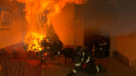 Christmas tree fires: Tips to avoid deadly danger