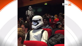 Star Wars frenzy mounts as 'The Force Awakens' in theaters