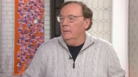 James Patterson talks about his latest Alex Cross thriller
