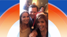 Hoda, Jenna share the fun of TODAY holiday party
