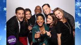 See the anchors raise their glasses at the TODAY holiday party