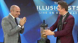 Watch 'The Illusionists' perform messy magic live on TODAY