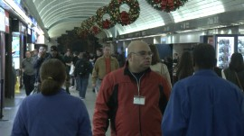 Airports packed during Christmas travel crush